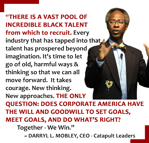 Darryl Mobley Quote About Black Talent
