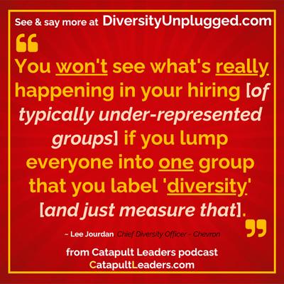 Diversity Unplugged Lee Jourdan Lump Diversity