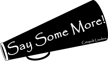 Say Some More logo