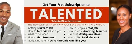 Talented the Newsletter from Catapult Leaders