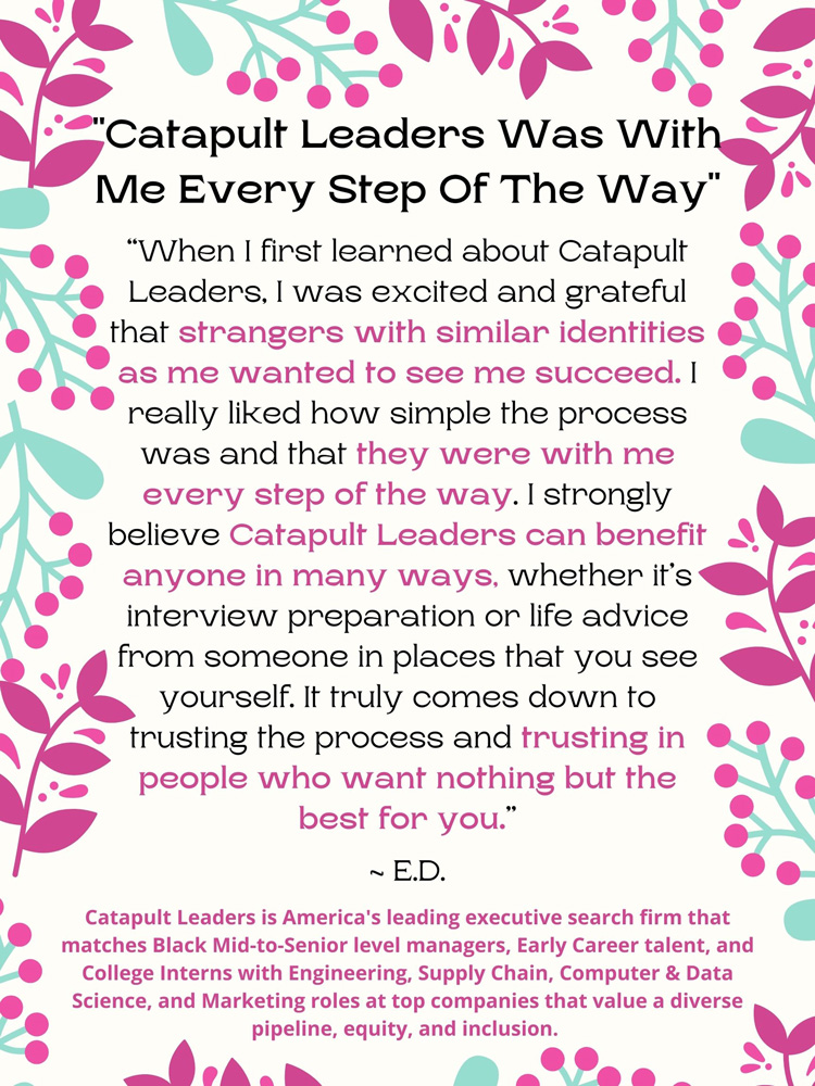 Catapult Leaders is With You Every Step of the Way - Catapult Leaders