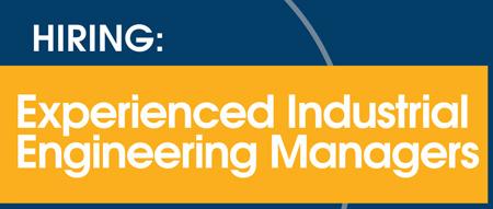 Senior Industrial Engineering Manager - Catapult Leaders