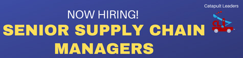 Senior Supply Chain Manager jobs - Catapult Leaders