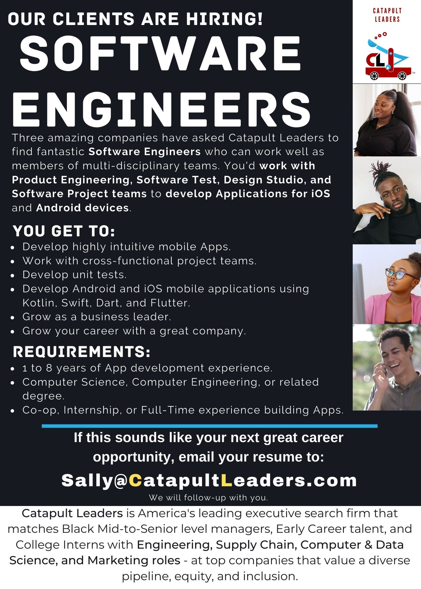 Software Engineers Apps Ad - Catapult Leaders