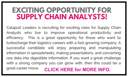 Supply Chain Analysts Jobs - Catapult Leaders
