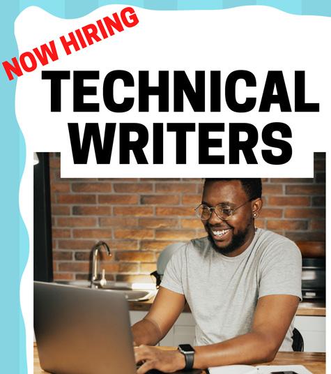 Technical Writer Jobs banner Catapult Leaders 10-6-21