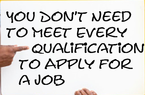 You Don't Need to Meet Every Qualification - Catapult Leaders